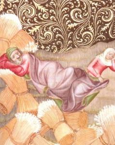 Ruth 3 At Boaz's Feet