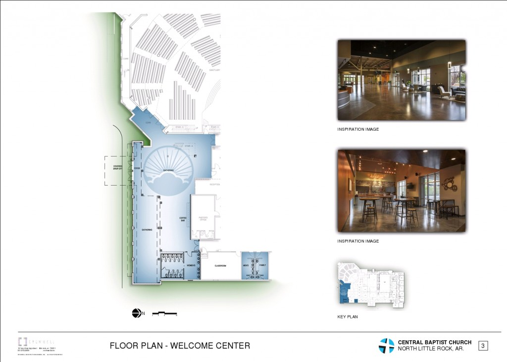 4 - FLOOR PLAN - WELCOME CENTER