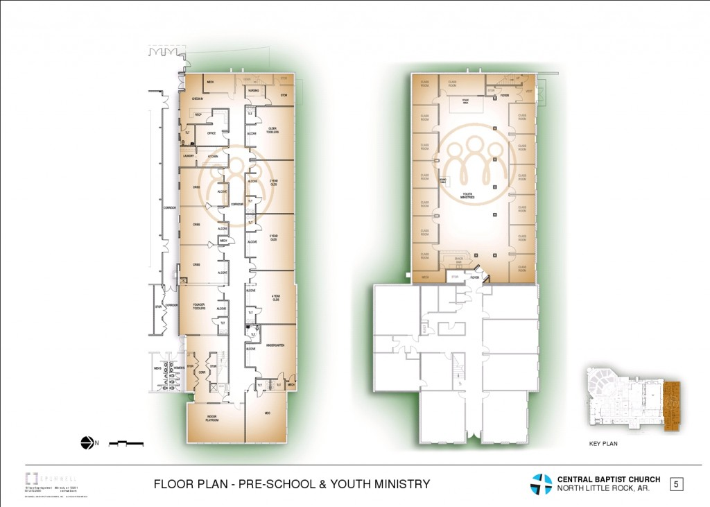 6 - FLOOR PLAN - PRE-SCHOOL & YOUTH MINISTRY